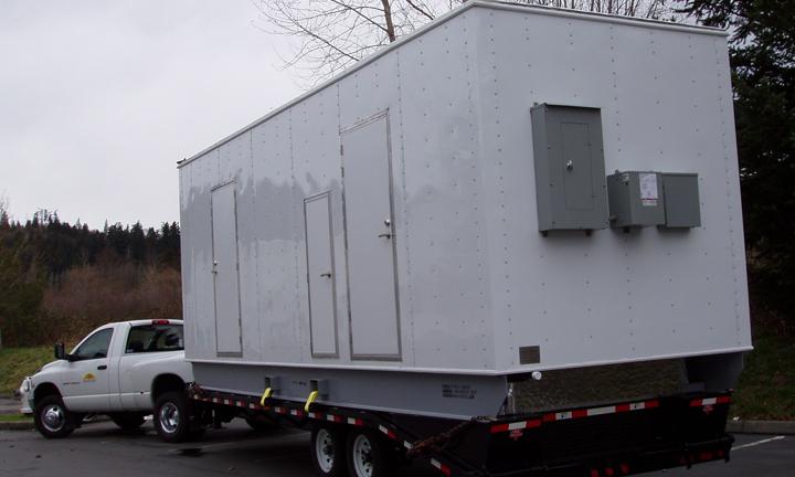 Modular shower unit