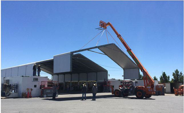 Industrial roof system