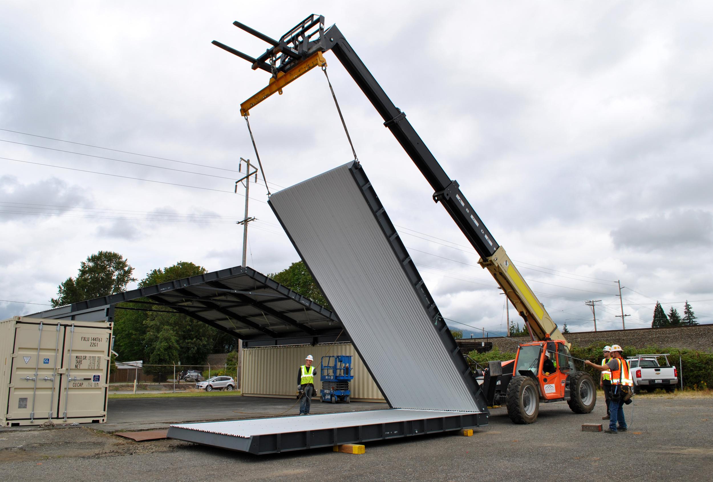 CTR panel unfold
