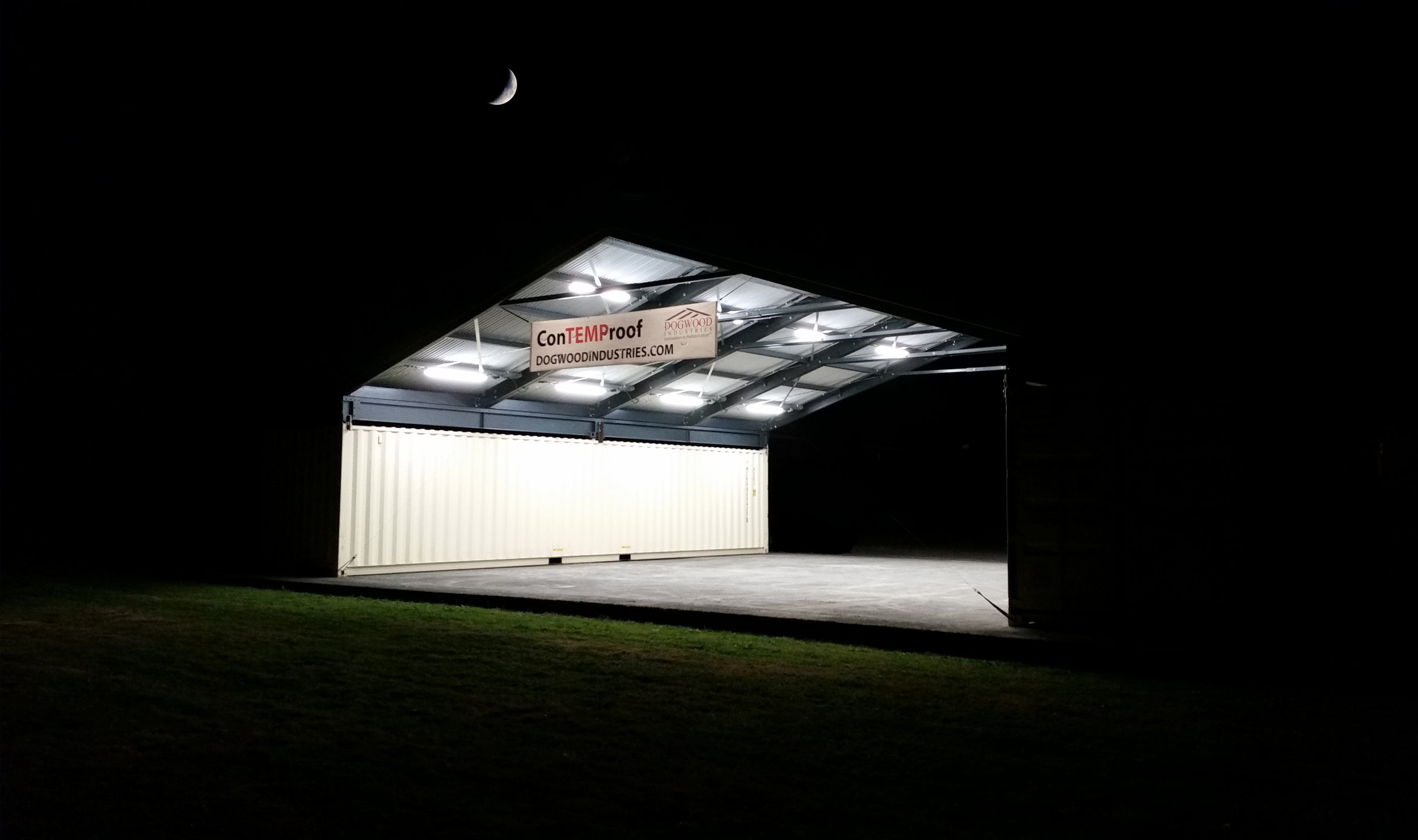 Powered Structures lights