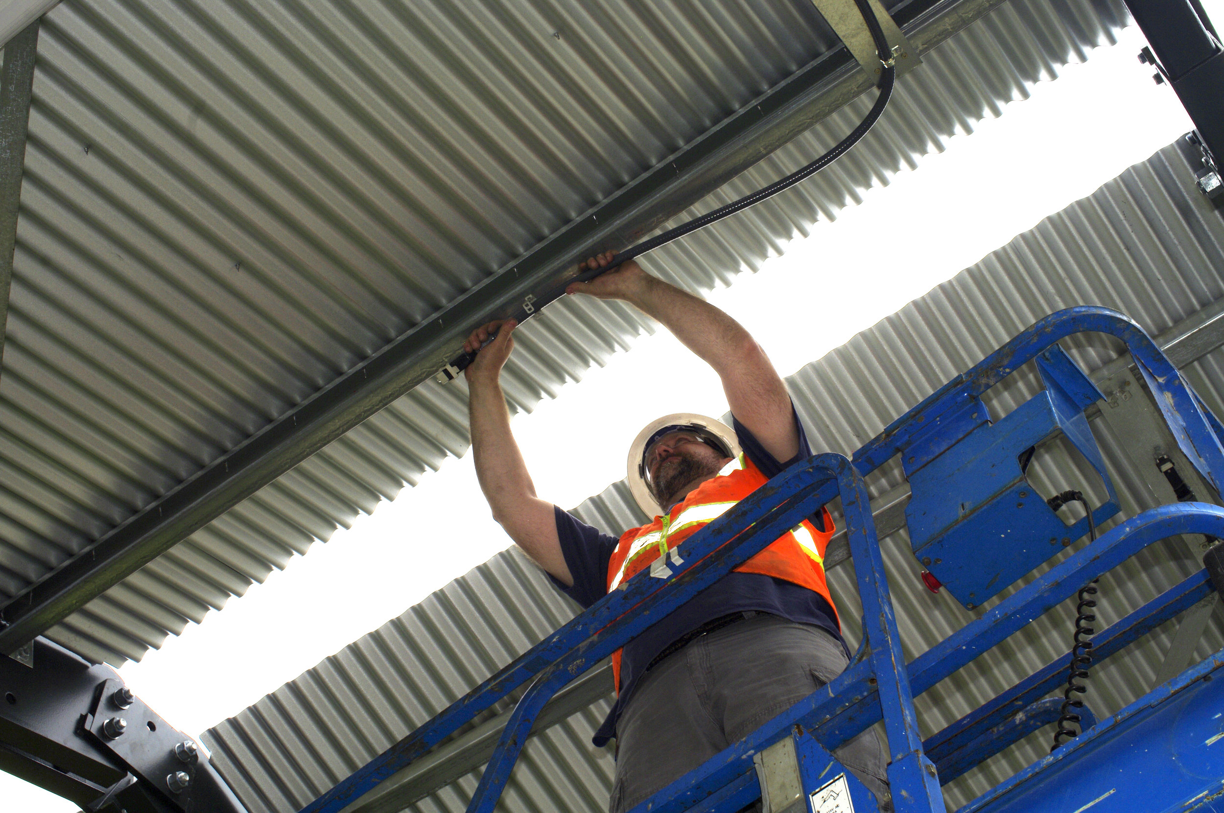 Wiring system install