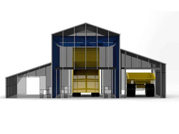RDCSS -  Rapid Deployment Crane Serviced Structure