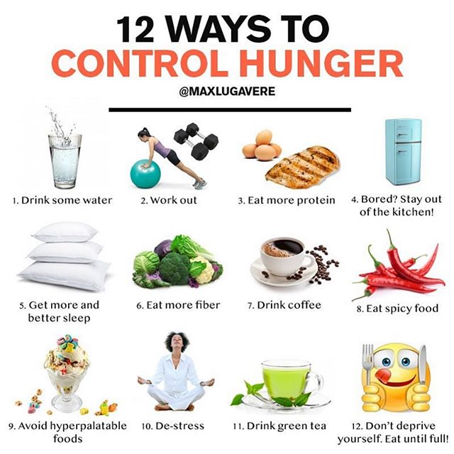 Discipline can be paired up with many things in order to get to your fitness goals. Here are some great things to help you control the hangry!!