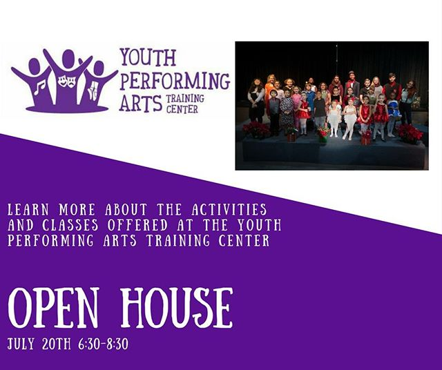 Don't forget this Friday is our open house! We would love to have you stop by so you can learn more about all of the opportunities available for your music student! #RyanAceMusic #YPATC