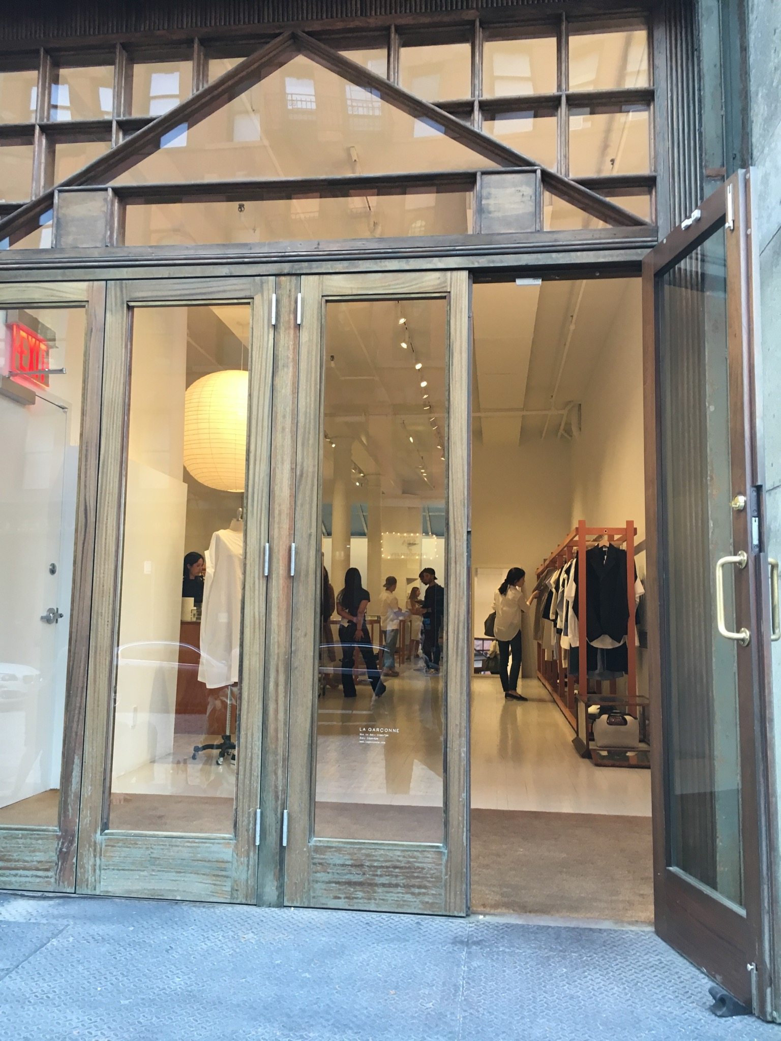 La Garconne is one of those boutiques you can easily miss out on for avant garde fashion, located in Tribeca.