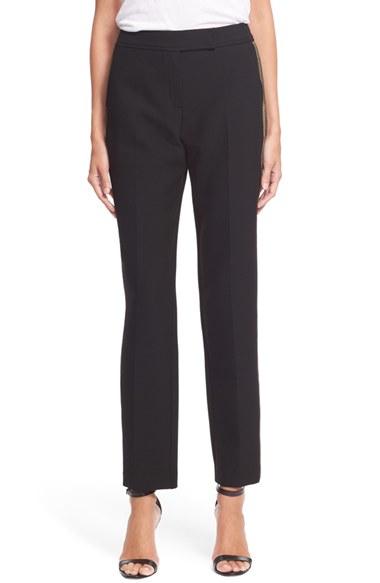 Trina Turk Black Tuxedo Pants