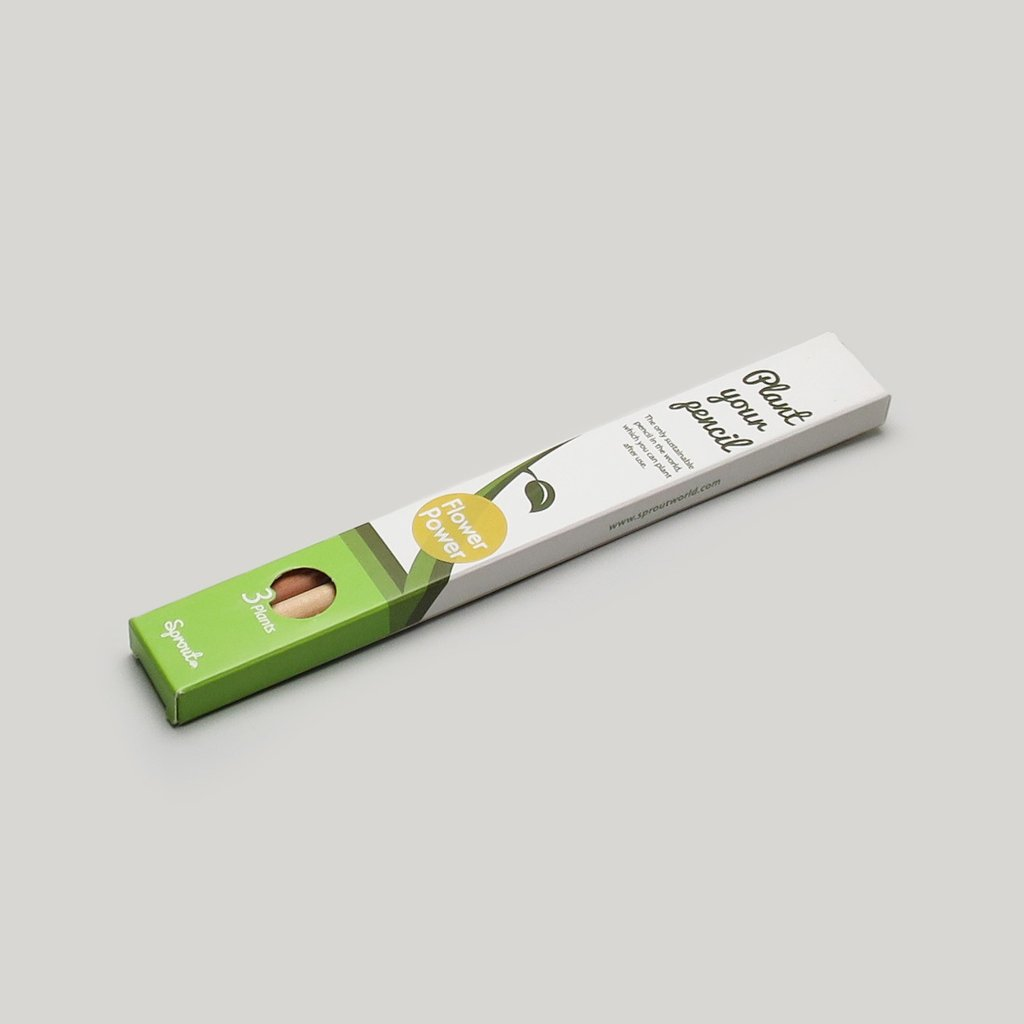 Plantable Pencils - Flower Power, CW Pencil Enterprise, $7