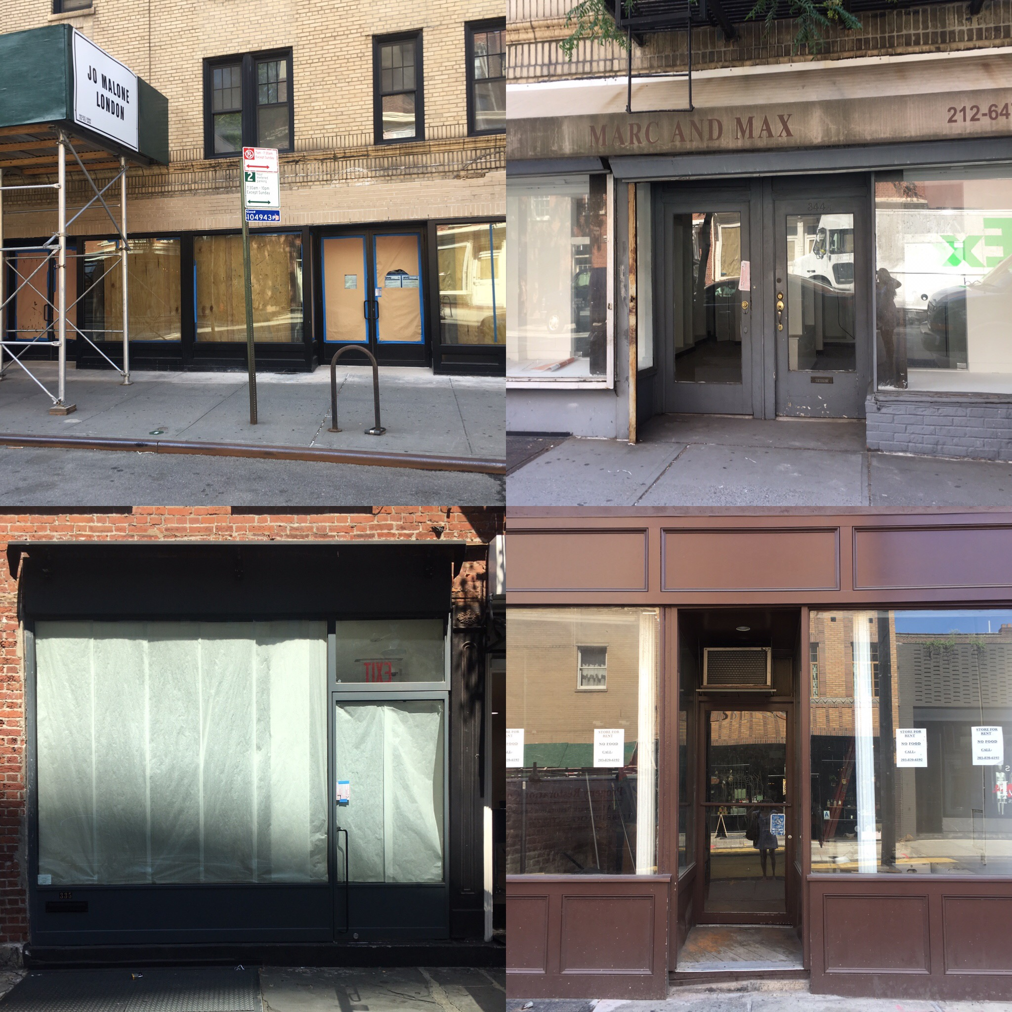 """Bleecker Street resembles towns in middle American known as the """"Rust Belt"""" with their empty shops."""