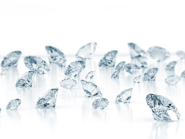 Lab grown diamonds.