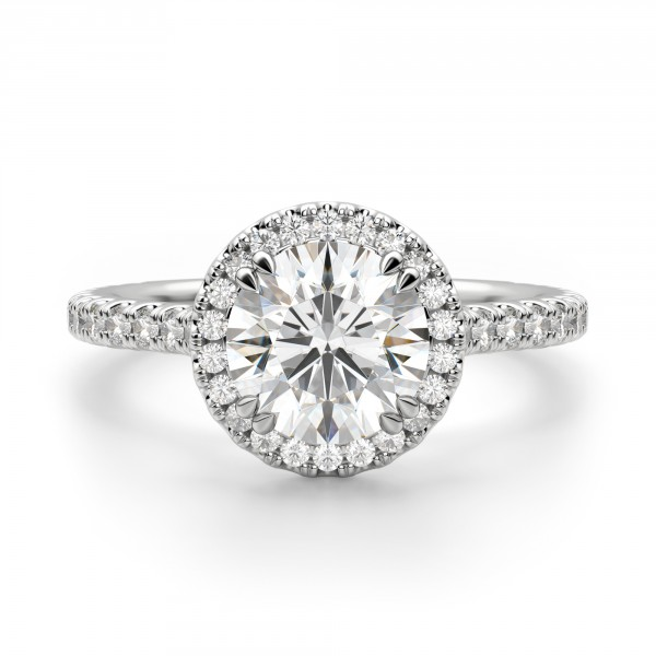Just one of the many diamond engagement ring designs at Diamond Nexus.