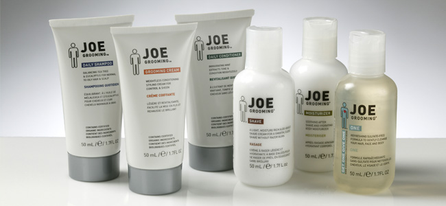 JOE GROOMING  was established in 2002 with a goal to create a natural and organic line of hair products formulated to meet their core objective. By lowering surfactant levels in their shampoos, adding soothing, moisturizing extracts to both cleansing and styling products, and fragrancing with essential oils rather than synthetic fragrances, they have taken the first steps toward achieving this goal.  Extra benefit is for every order of a Joe Grooming product, they donate a bar of Joe Grooming soap to a resident of homeless shelters across the USA.  www.joegrooming.biz