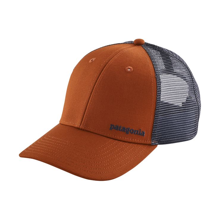 Patagonia, The Small Text Logo LoPro Trucker Hat, $29