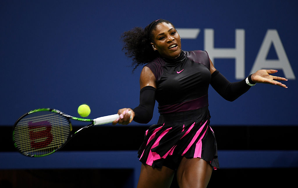 Serena Williams kept up her fashion IQ during the 2018 US Open.