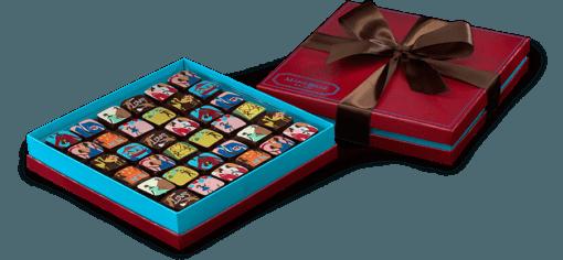 MARIEBELLE VALENTINES'S CHOCOLATE GANACHE 36 PIECE BOX $97