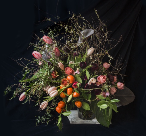 EMILY THOMPSON FLOWERS CUSTOM ARRANGEMENTS, PRICE UPON REQUEST.