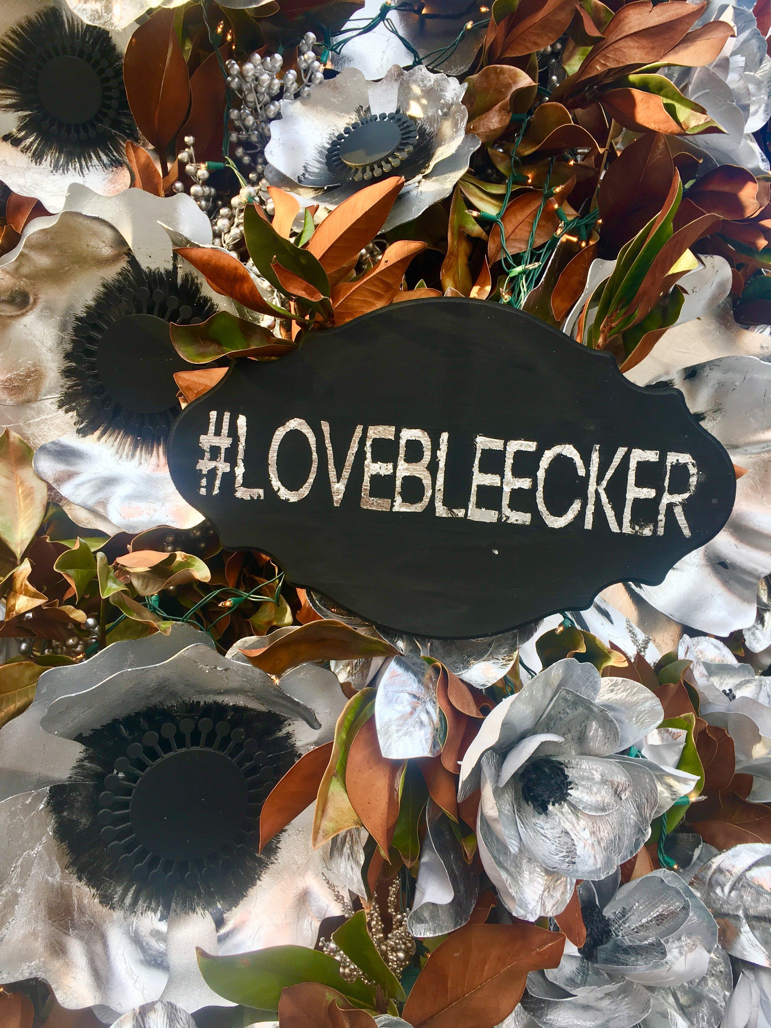 #lovebleecker