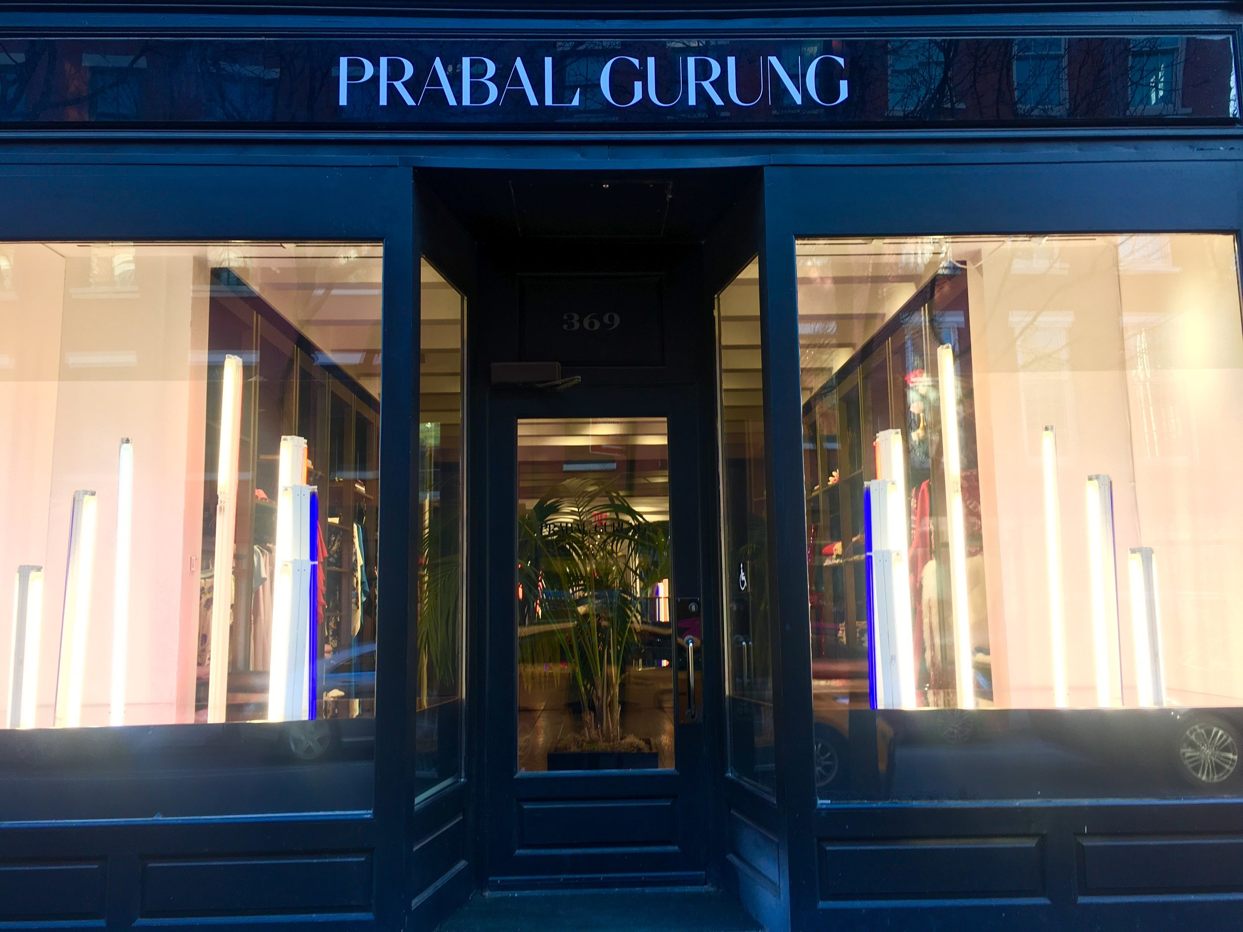 Prabal Gurung and Edward Ross collaboration.