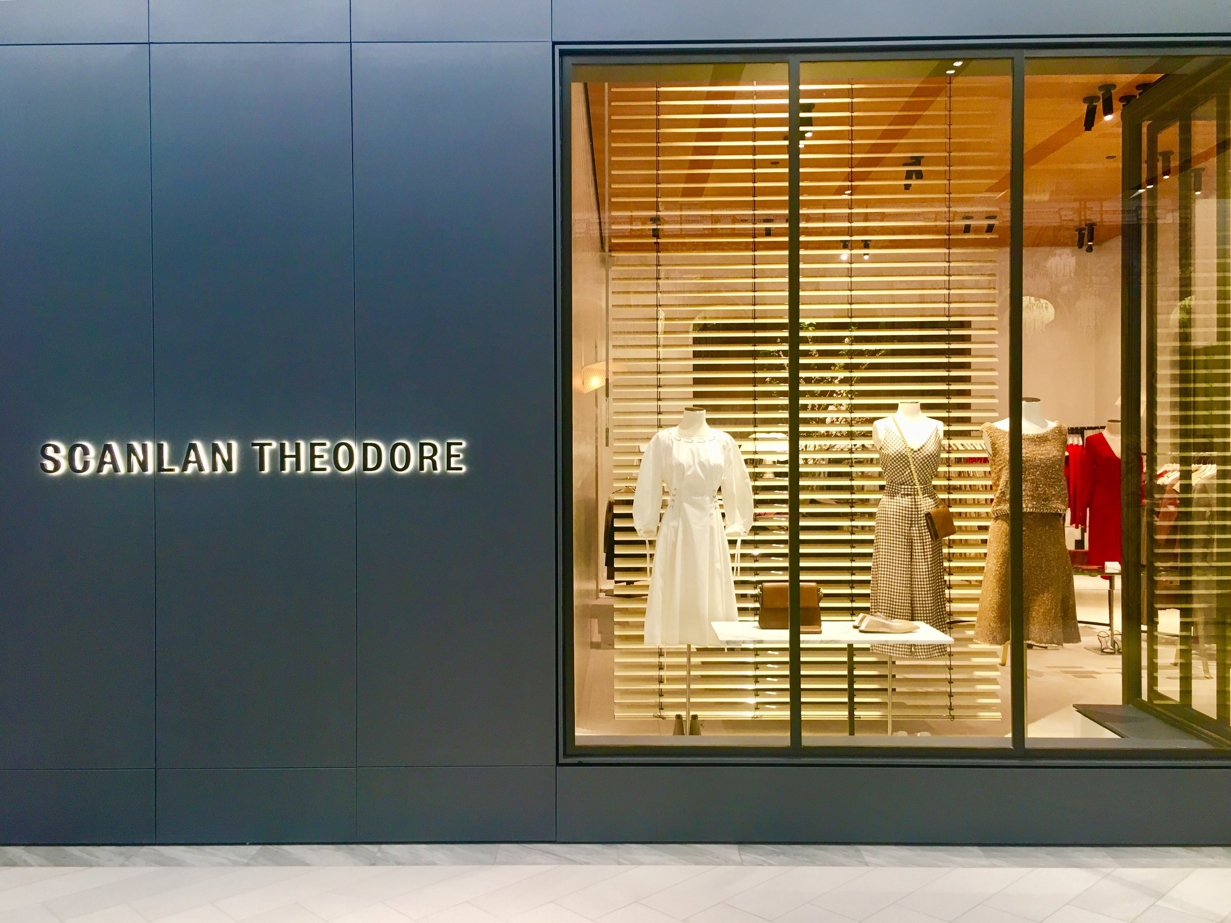 Scanlan Theodore is one of the many independent brands that have opened in Hudson Yards.