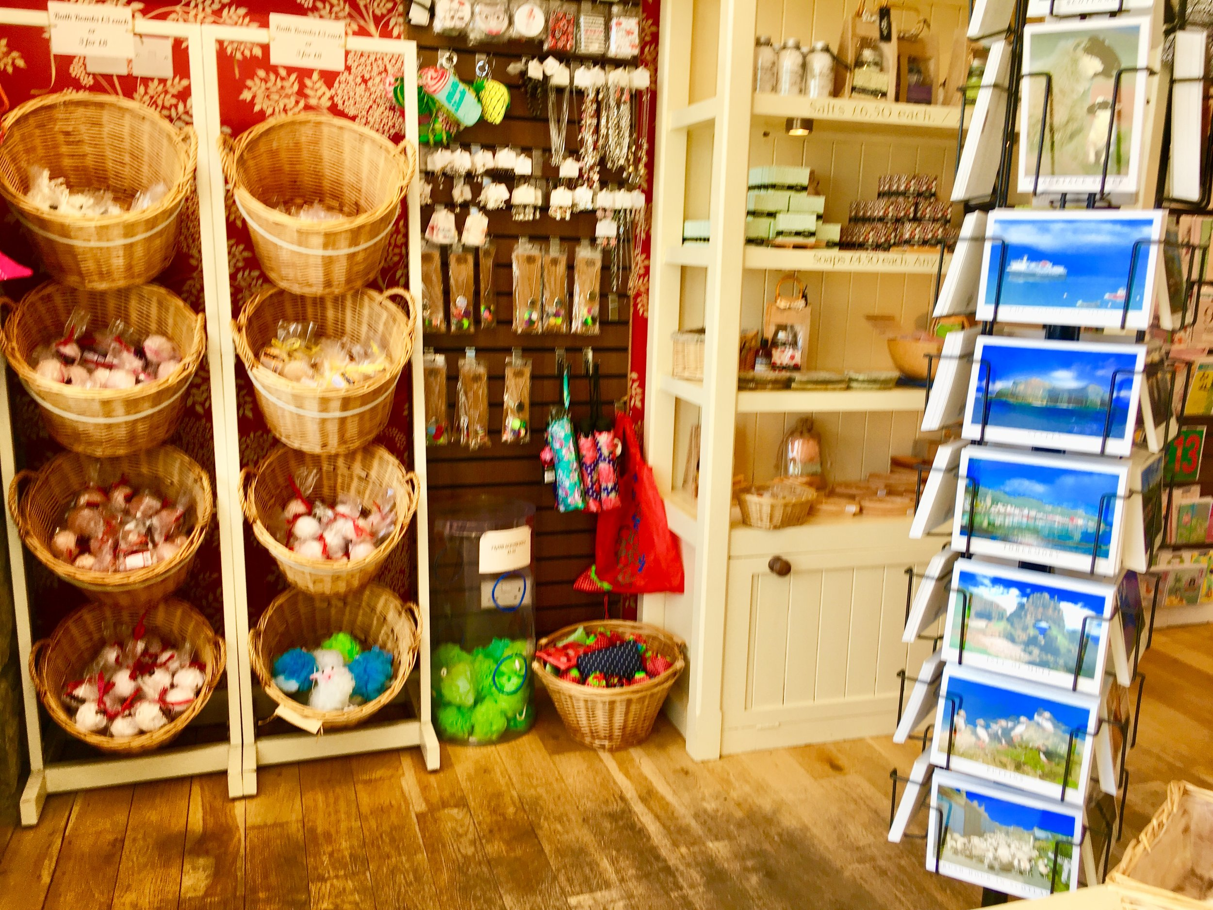 Isle of Mull Soap Co. also offers bath bombs, bath and body and great gifts to remind you of your stay in Tobermory.