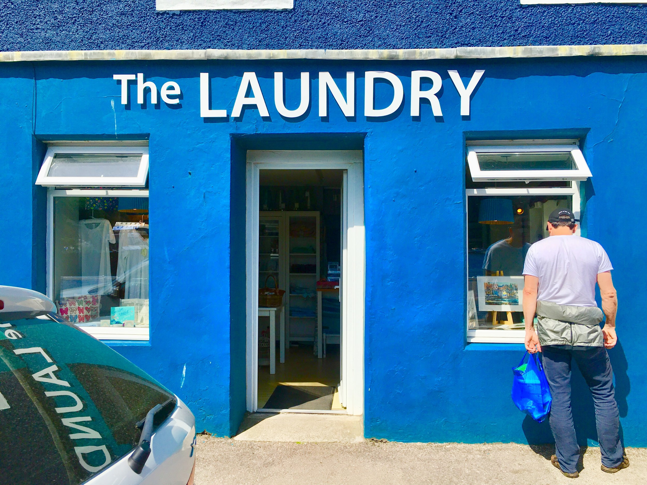 Is it a Laundry or a store? It's both and both are well done.