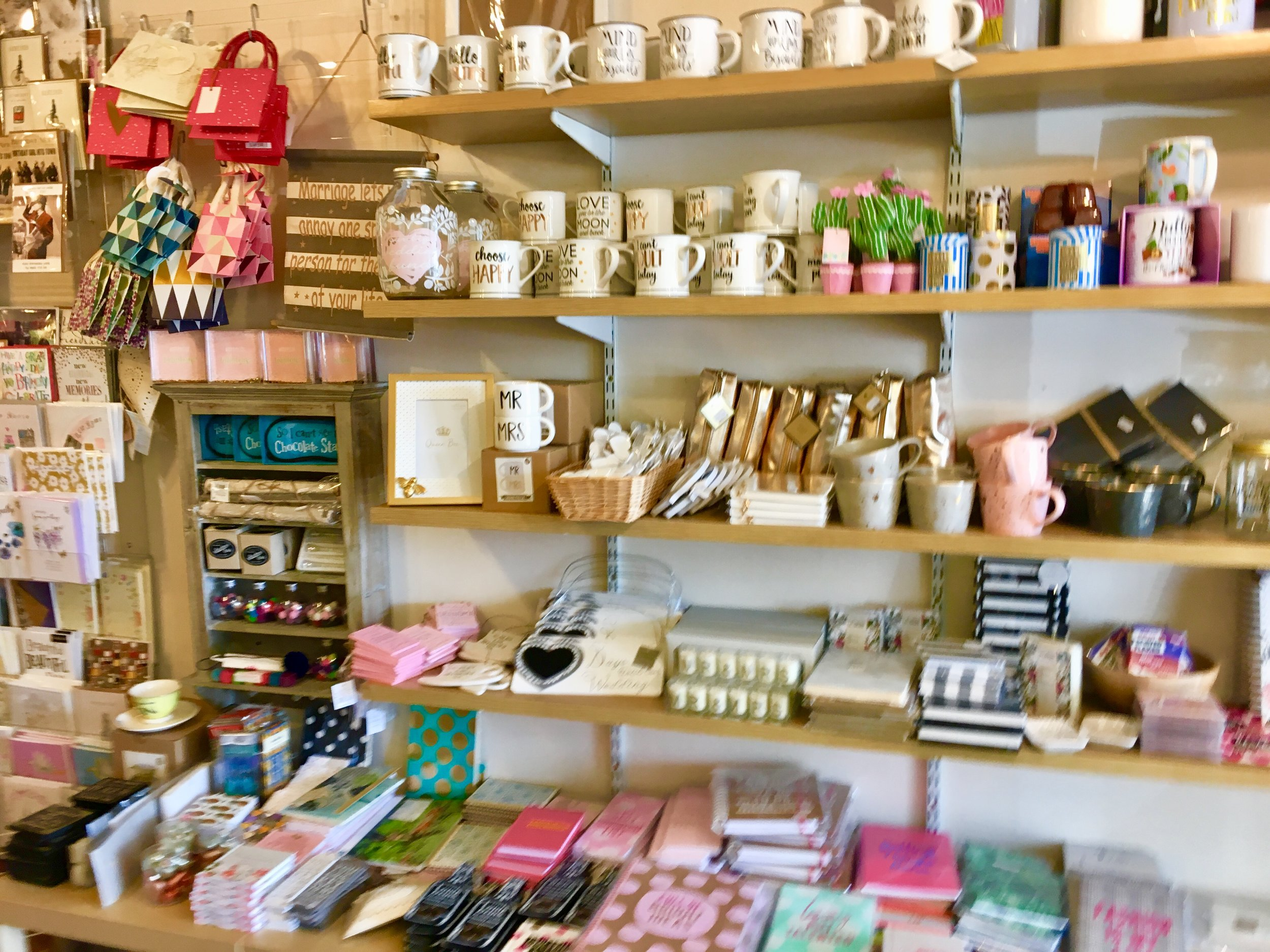 The shop at Tobermory Handmade Chocolate offers an array of gift giving besides chocolate.