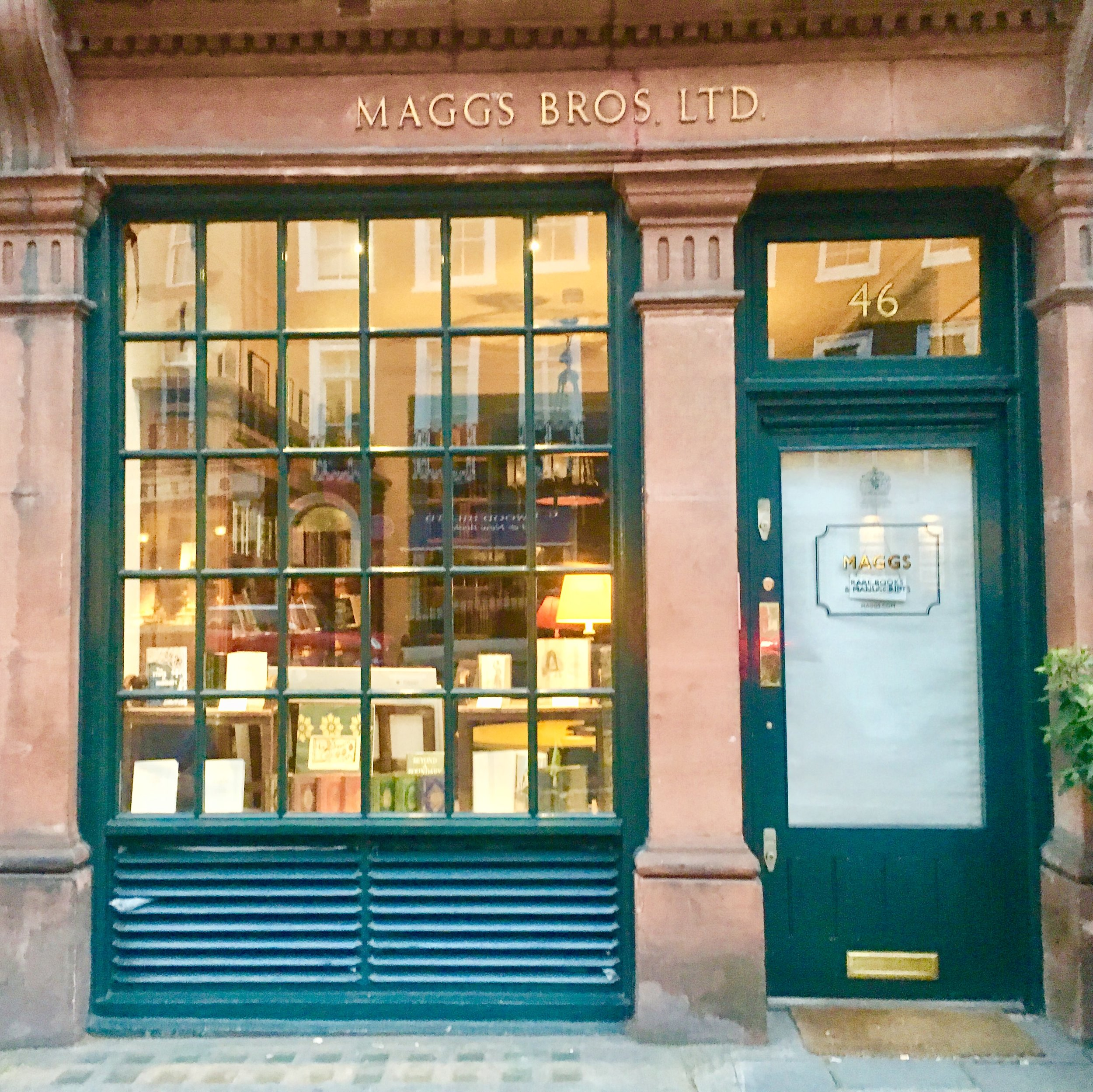 Maggs Bros. Ltd: Rare books and Manuscripts  offers rare books and manuscripts from around the world in every topic imaginable. With two elegant destinations in Mayfair and Covent Gardens, it has a stellar reputation in the antiquarian world since 1853.