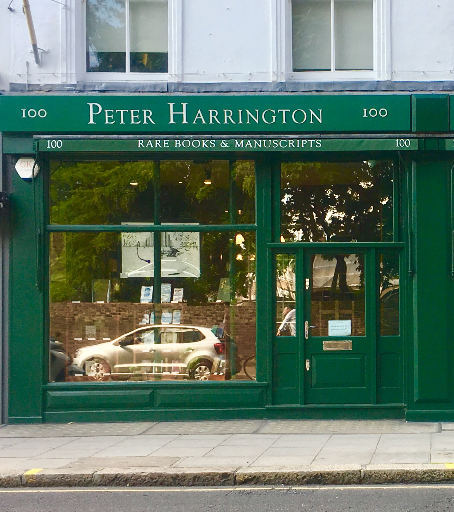 Peter Harrington Rare Books & Manuscripts  specialises in selling and buying the finest quality original first editions, signed, rare and antiquarian books, library sets, maps and original manuscripts.