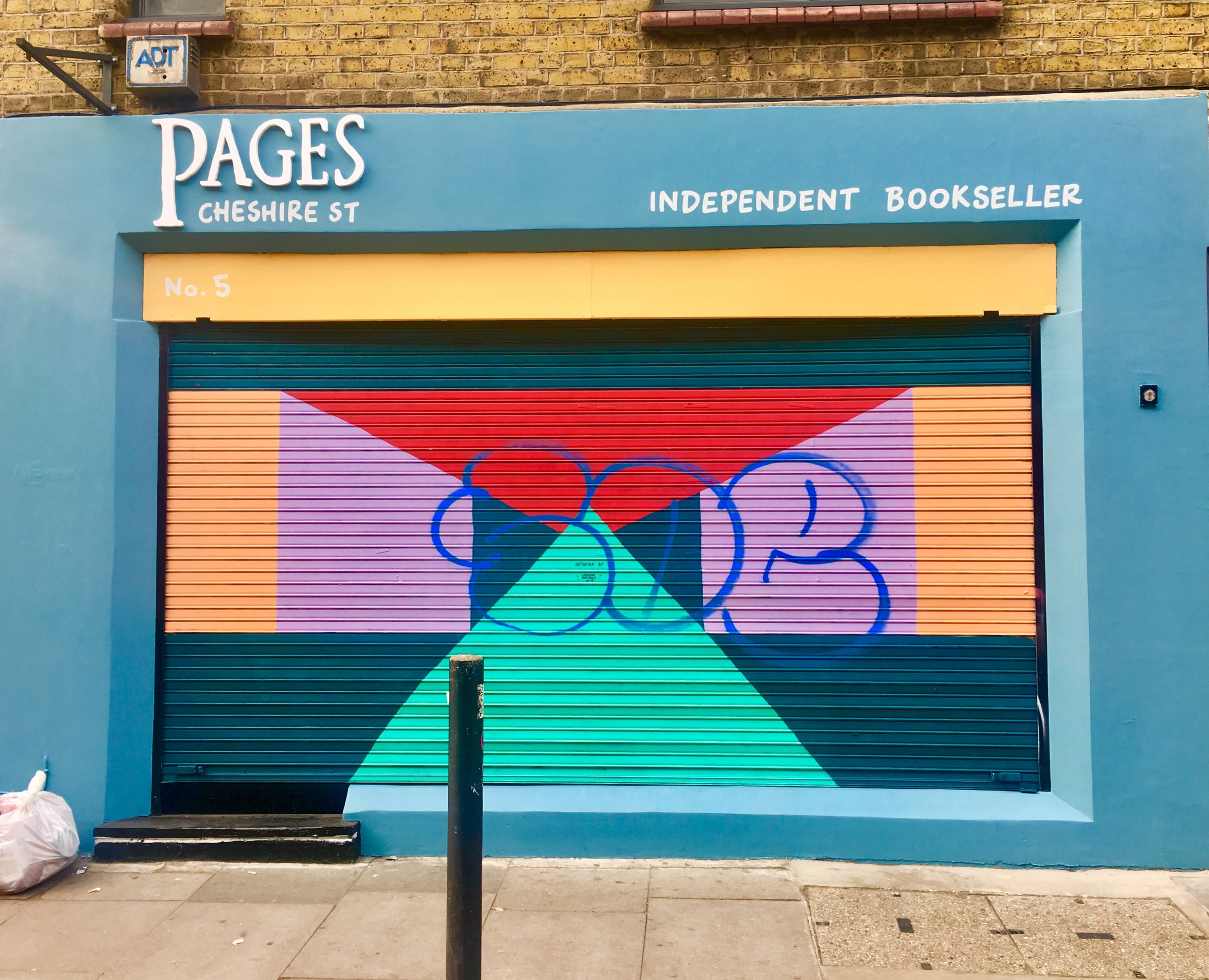 Pages Cheshire Street  is a sister shop to Clapton's award-winning bookshop,  Pages of Hackney . Pages Cheshire Street is an independent bookstore that showcases women, trans and gender diverse authors across many genres. 5 Cheshire St, Shoreditch, London, UK