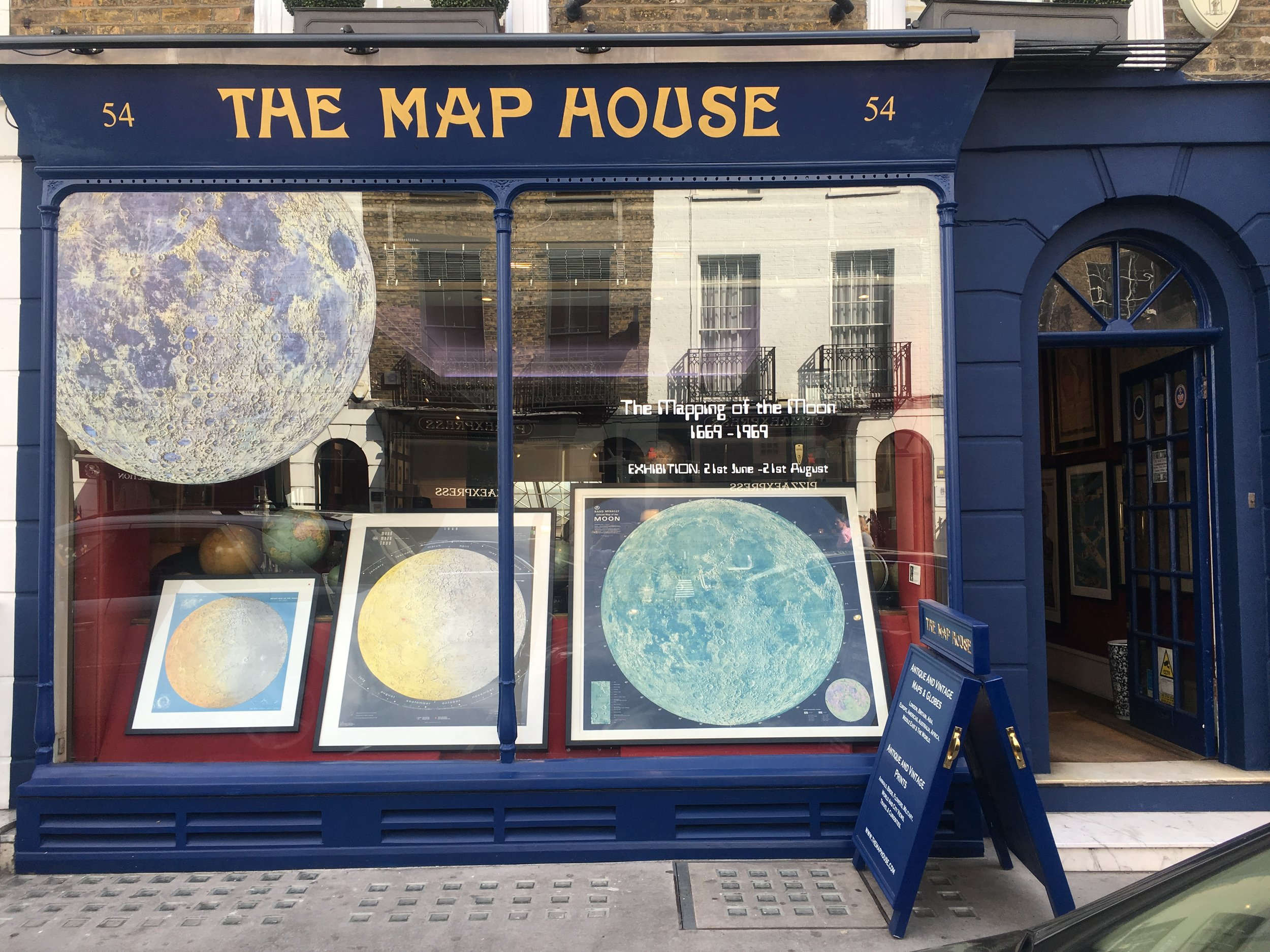 The Map House  was established originally in 1907 as Map and Booksellers by Alfred Sifton and Francis Praed. Now it provides antiquarian maps from around the world.