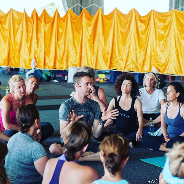 This summer from the Nantucket Yoga Festival:)