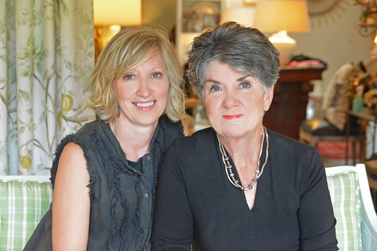 The Team: Cindy Frandsen & Kathy Hanley | © Lake Interiors Inc.