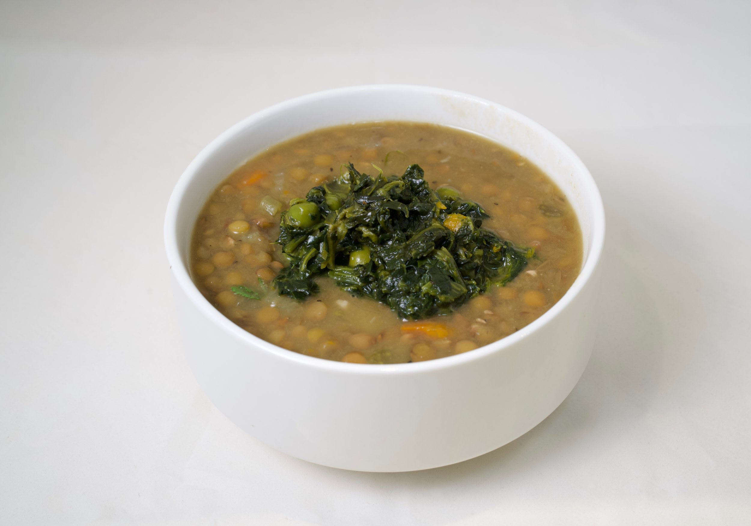70. Spinach Lentil