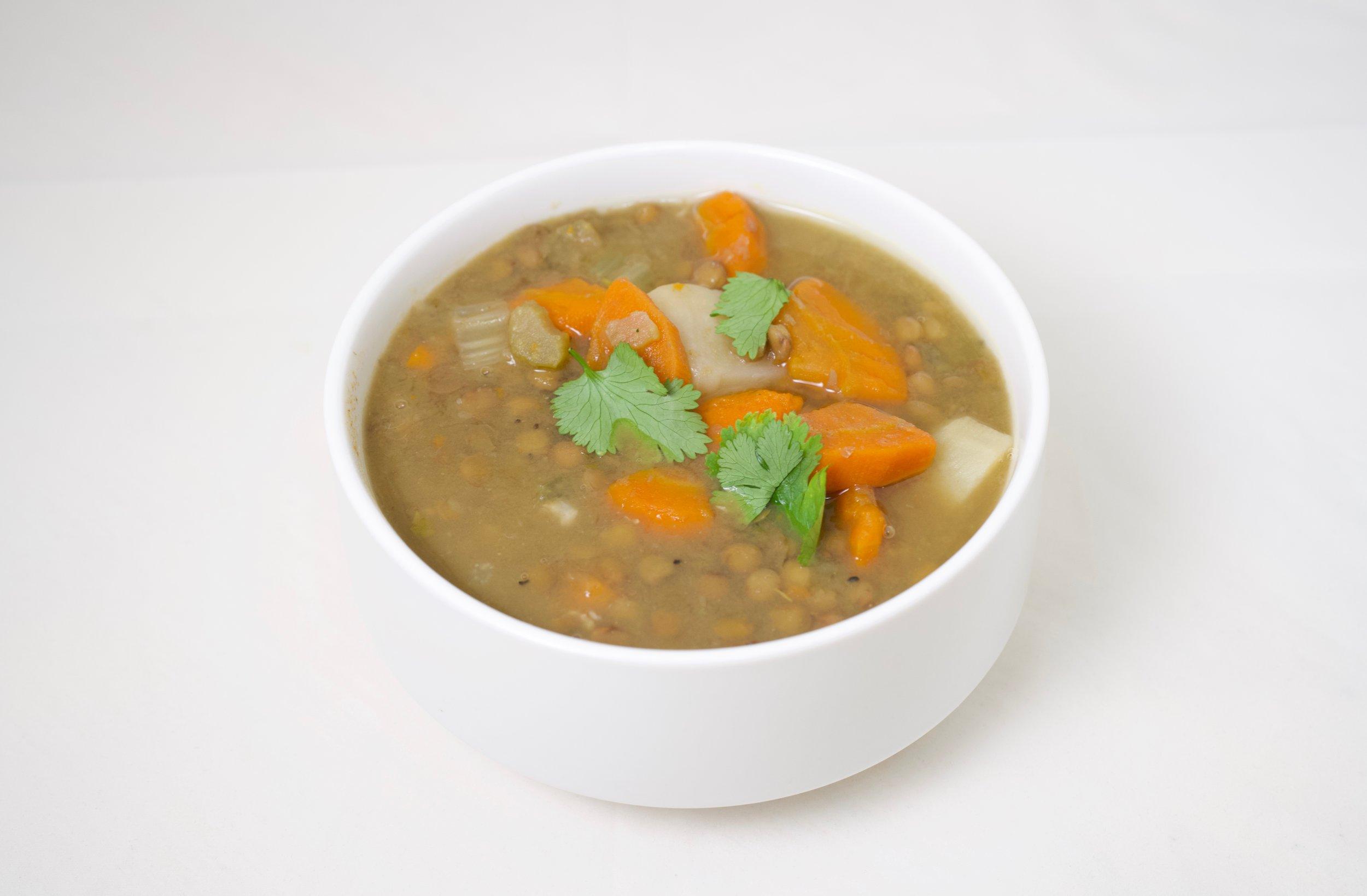 63. Vegetable Lentil