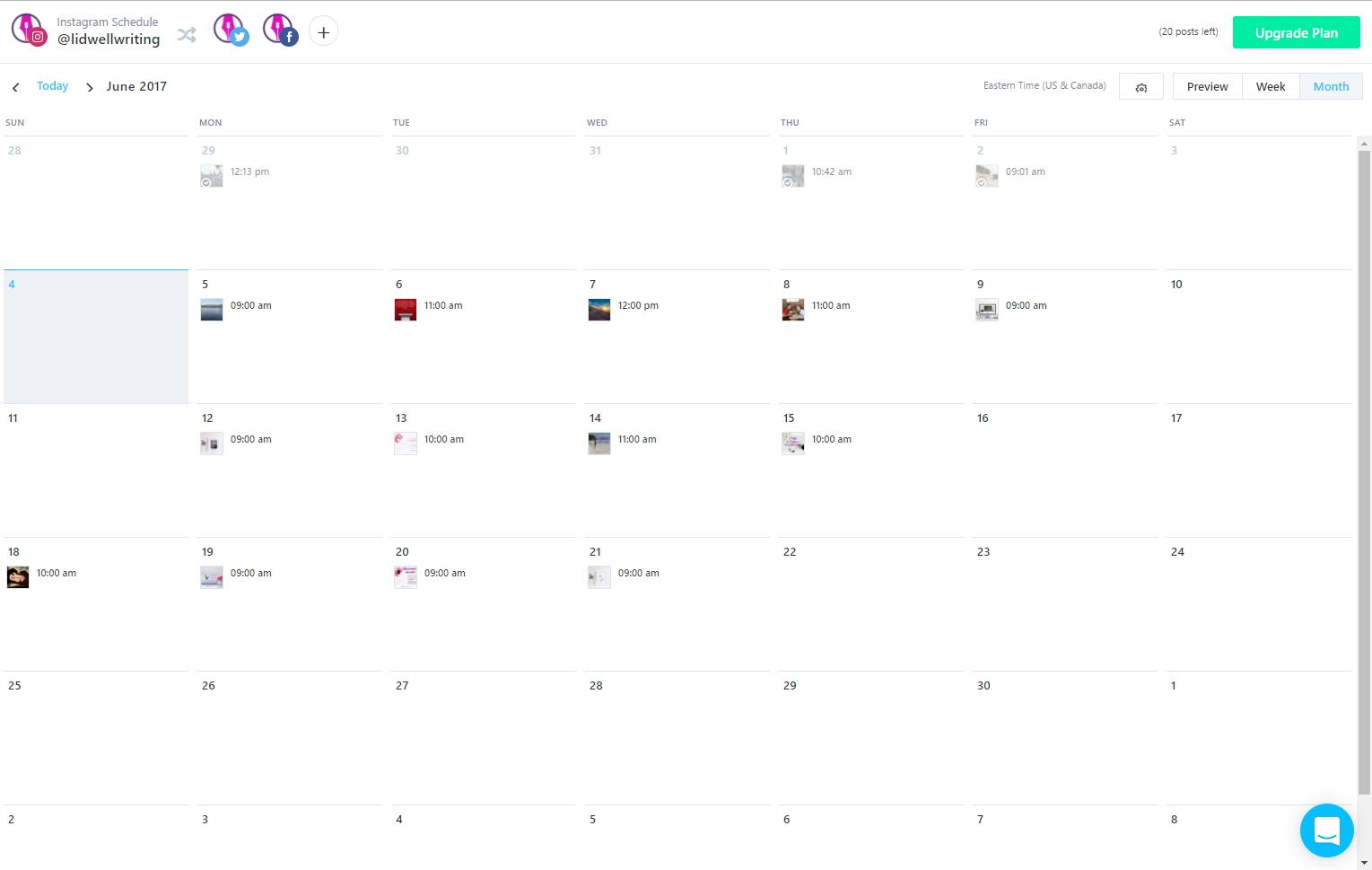 Later-Scheduling-Calendar