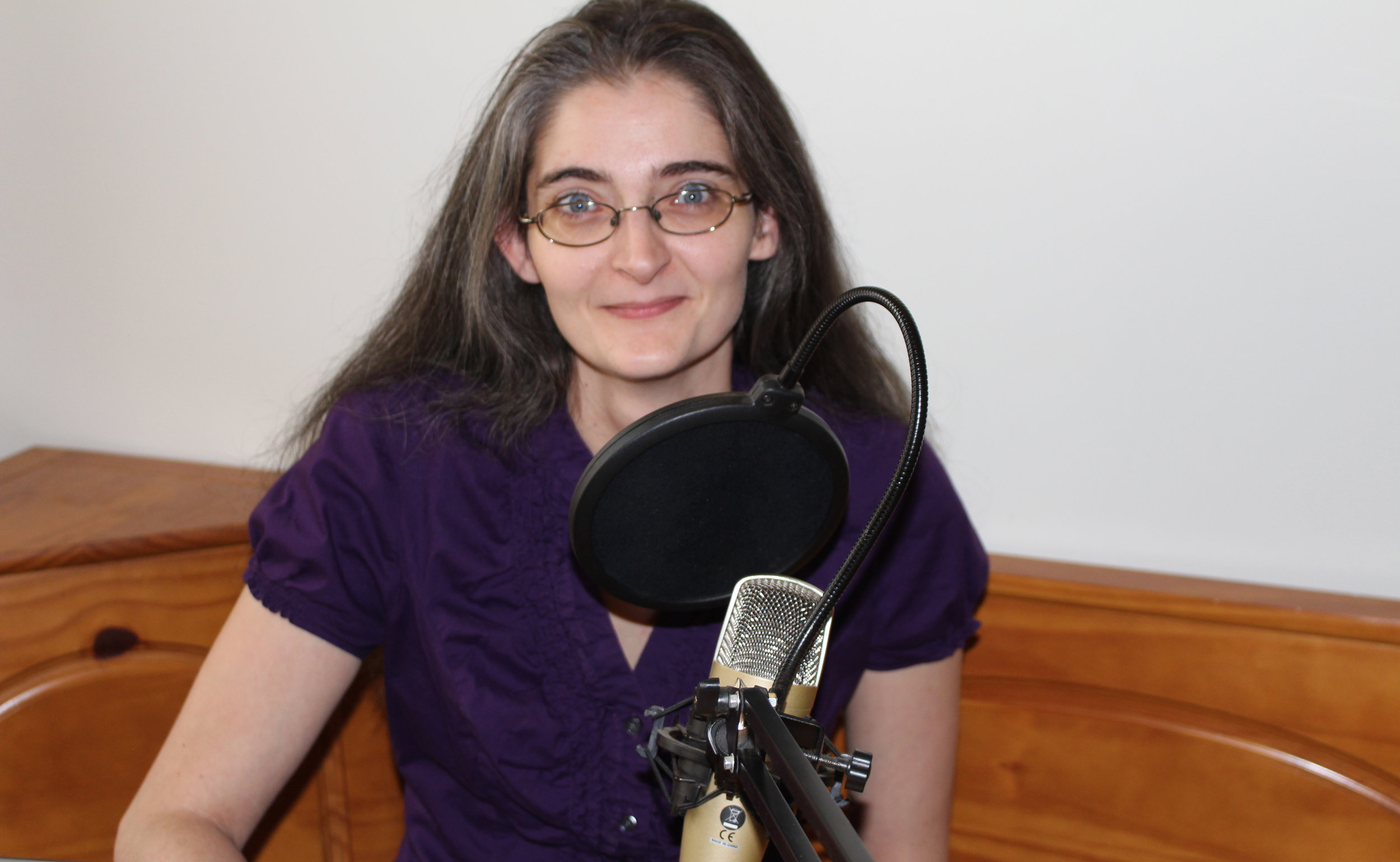 Me with my (retired) Behringer C-1 mic