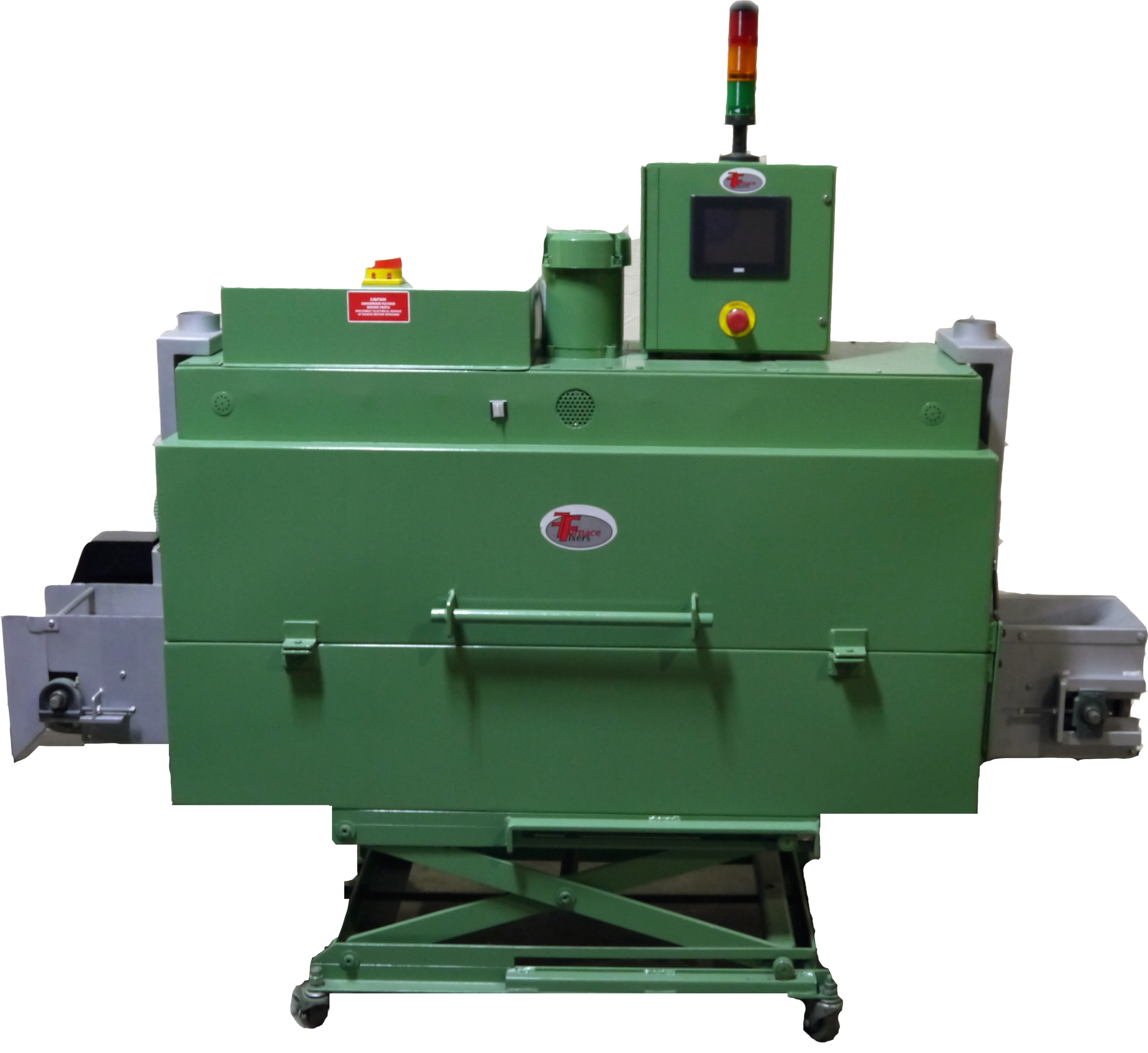 MEDICAL FURNACE: OUR MEDICAL FURNACE USED INSULATION THAT WAS TREATED WITH A SPECIAL SOLUTION TO ELIMINATE ANY PARTICULATES FROM CONTAMINATING THE PARTS.