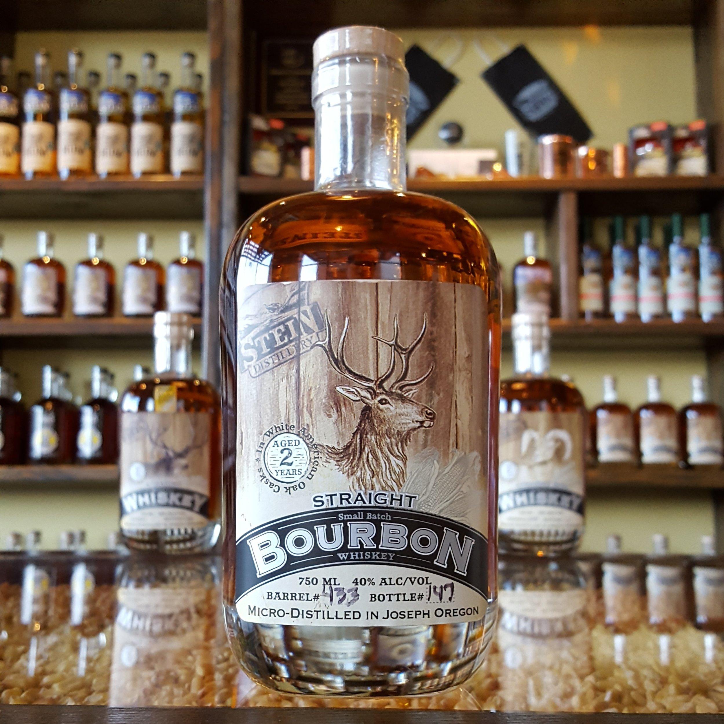 2yr Straight Bull Bourbon - OLCC Code: 0580B