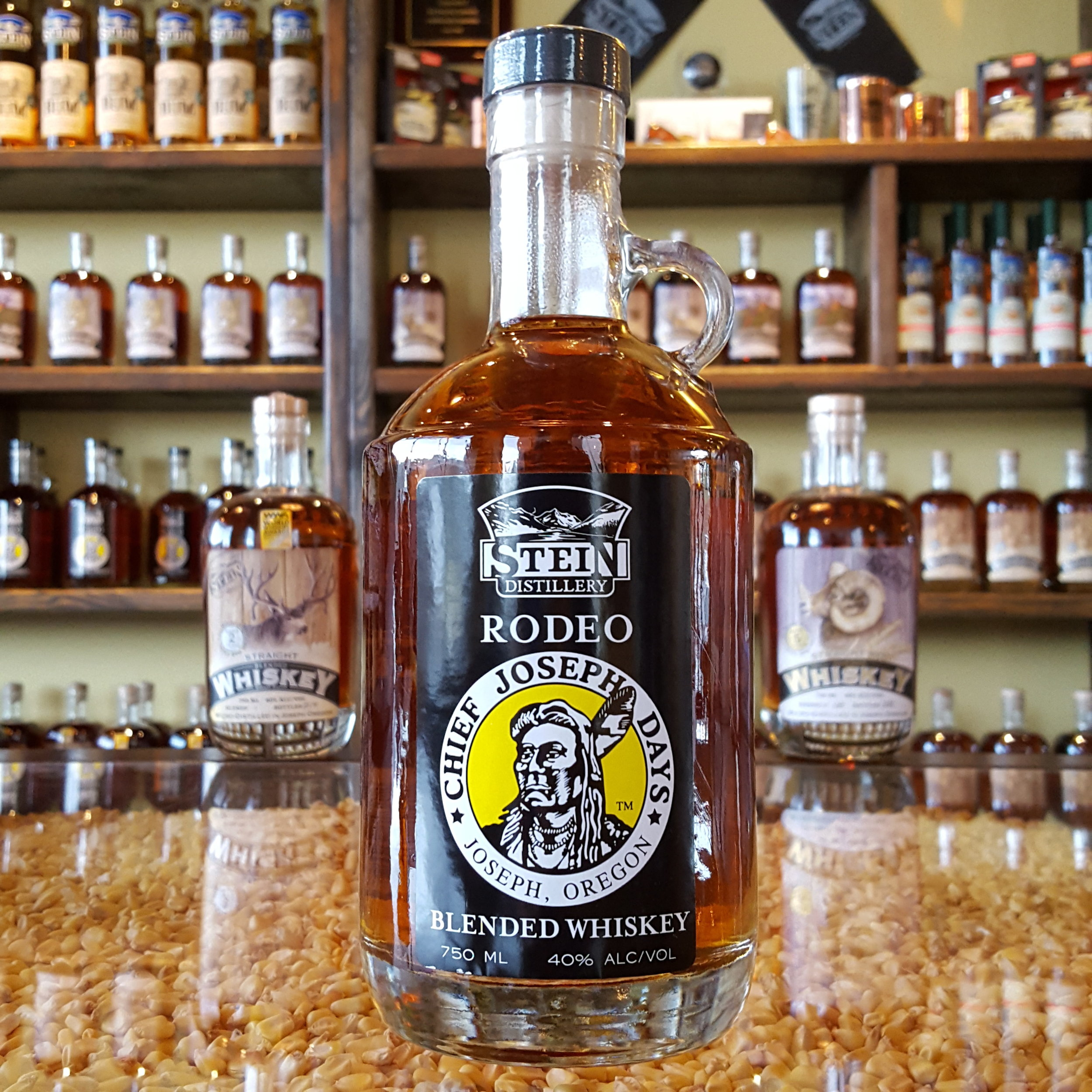 2yr Straight Blended Chief Joseph Days Rodeo Whiskey - OLCC Code: 3401B