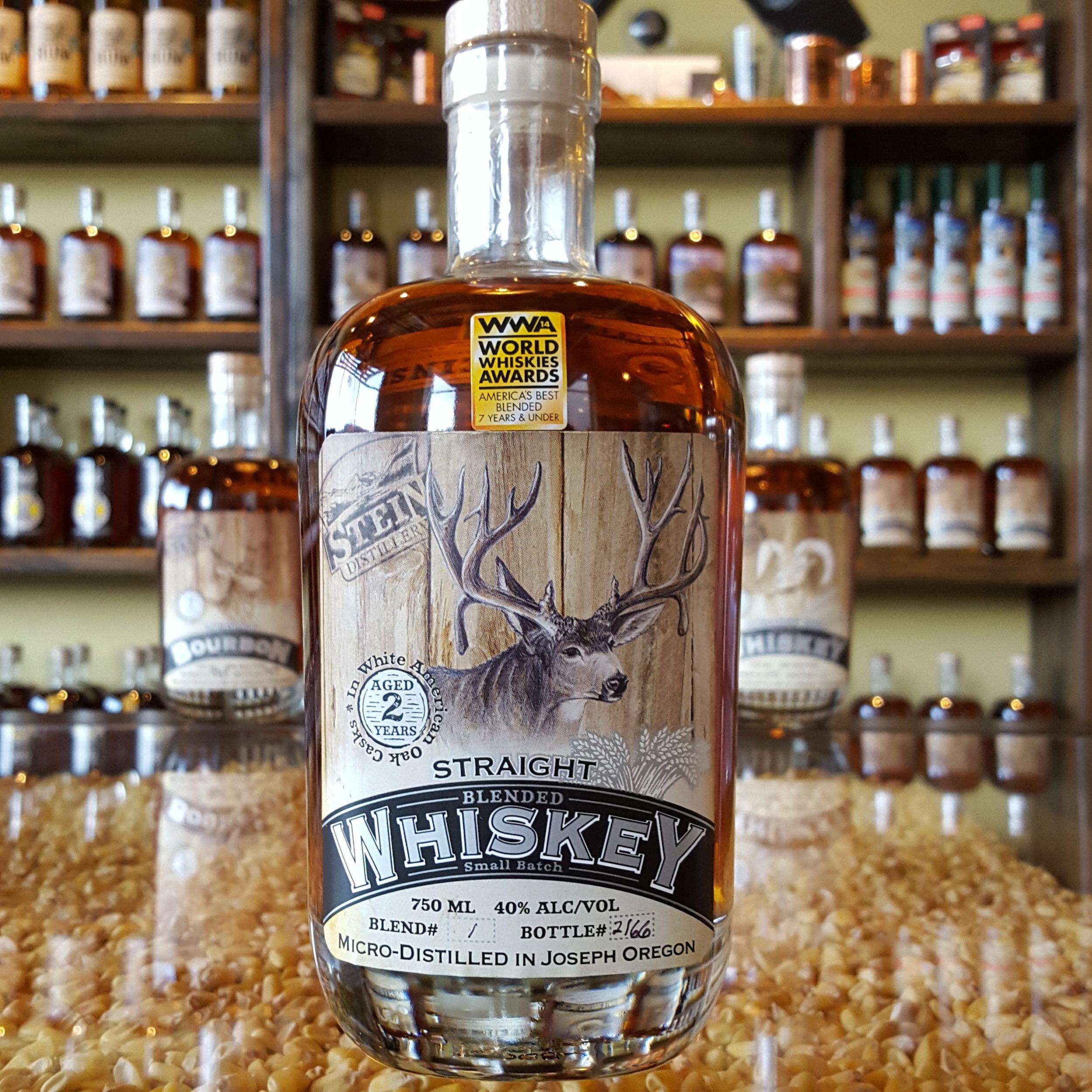 2yr Straight Big Buck Blended Whiskey - OLCC Code: 1683B