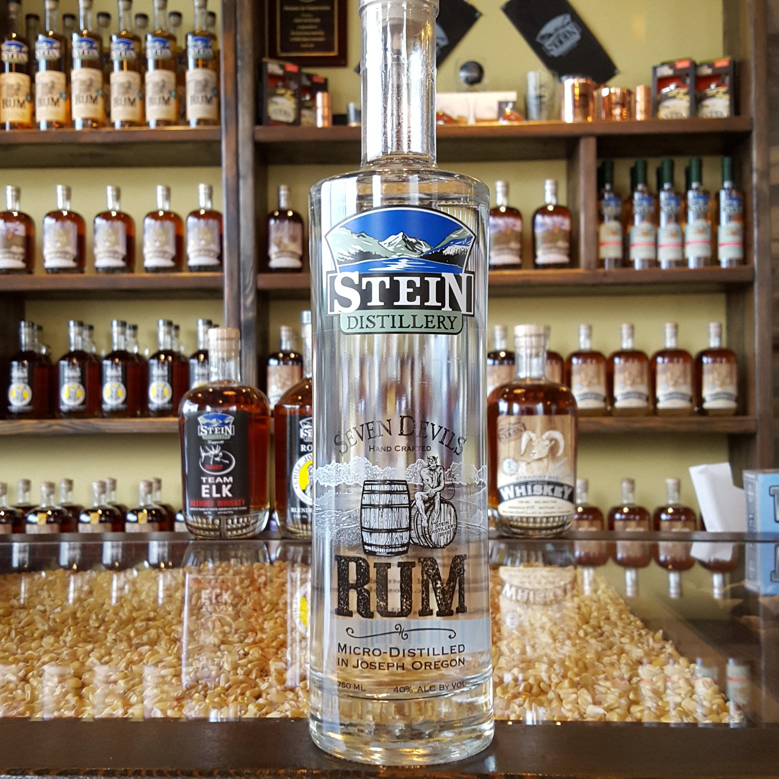 Seven Devils Rum - OLCC Code: 0241B