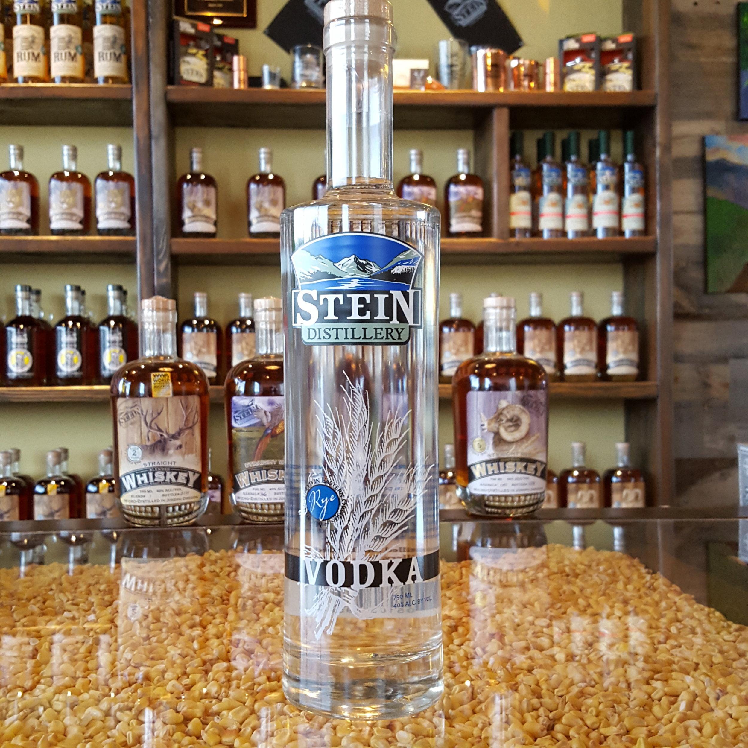 Stein Rye Vodka - OLCC Code: 7408B