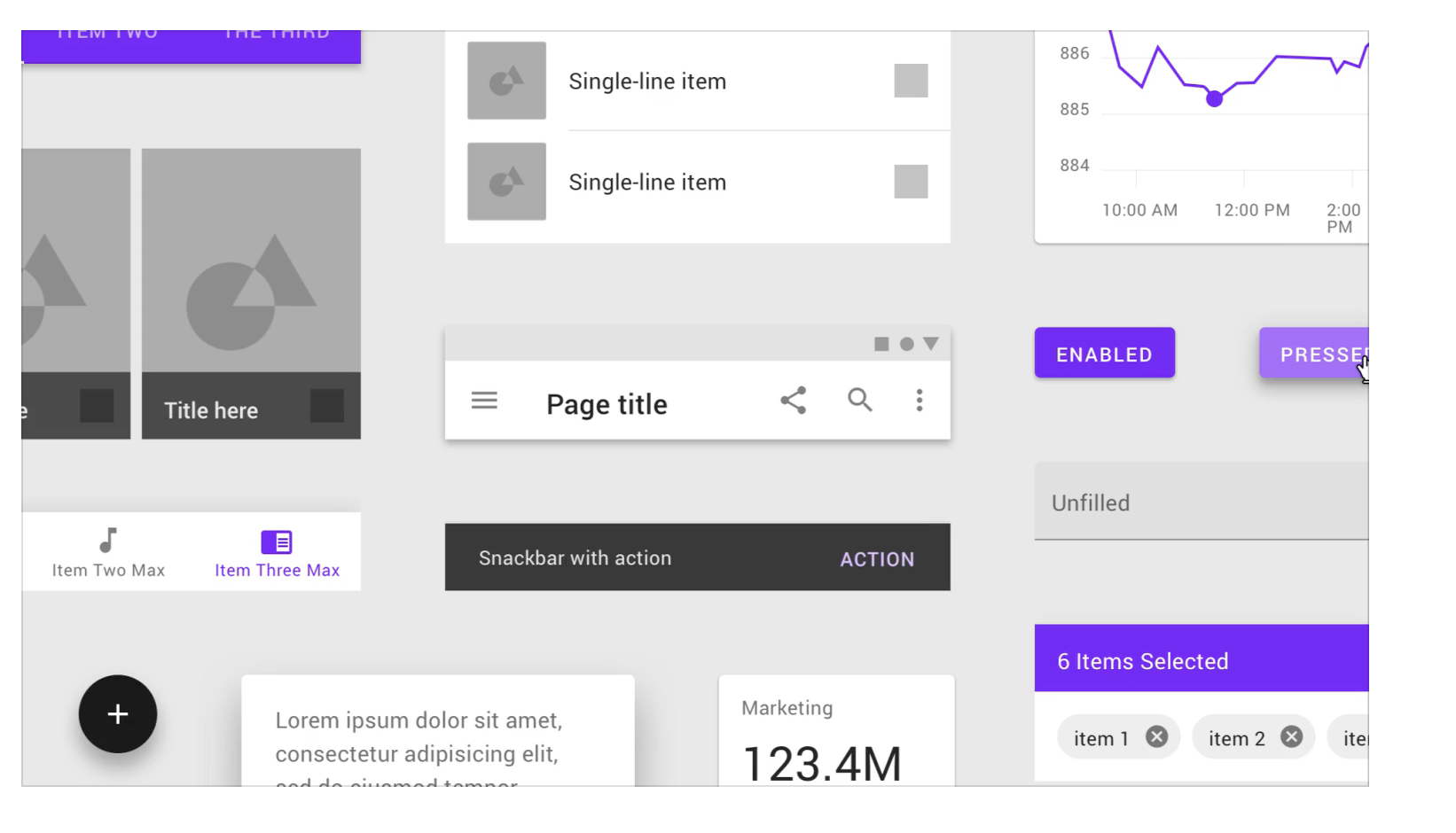 Theming with Google Material Design