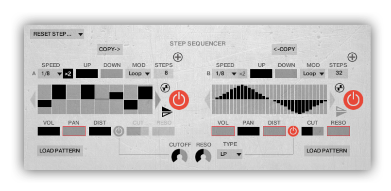 Advanced Step Sequencer