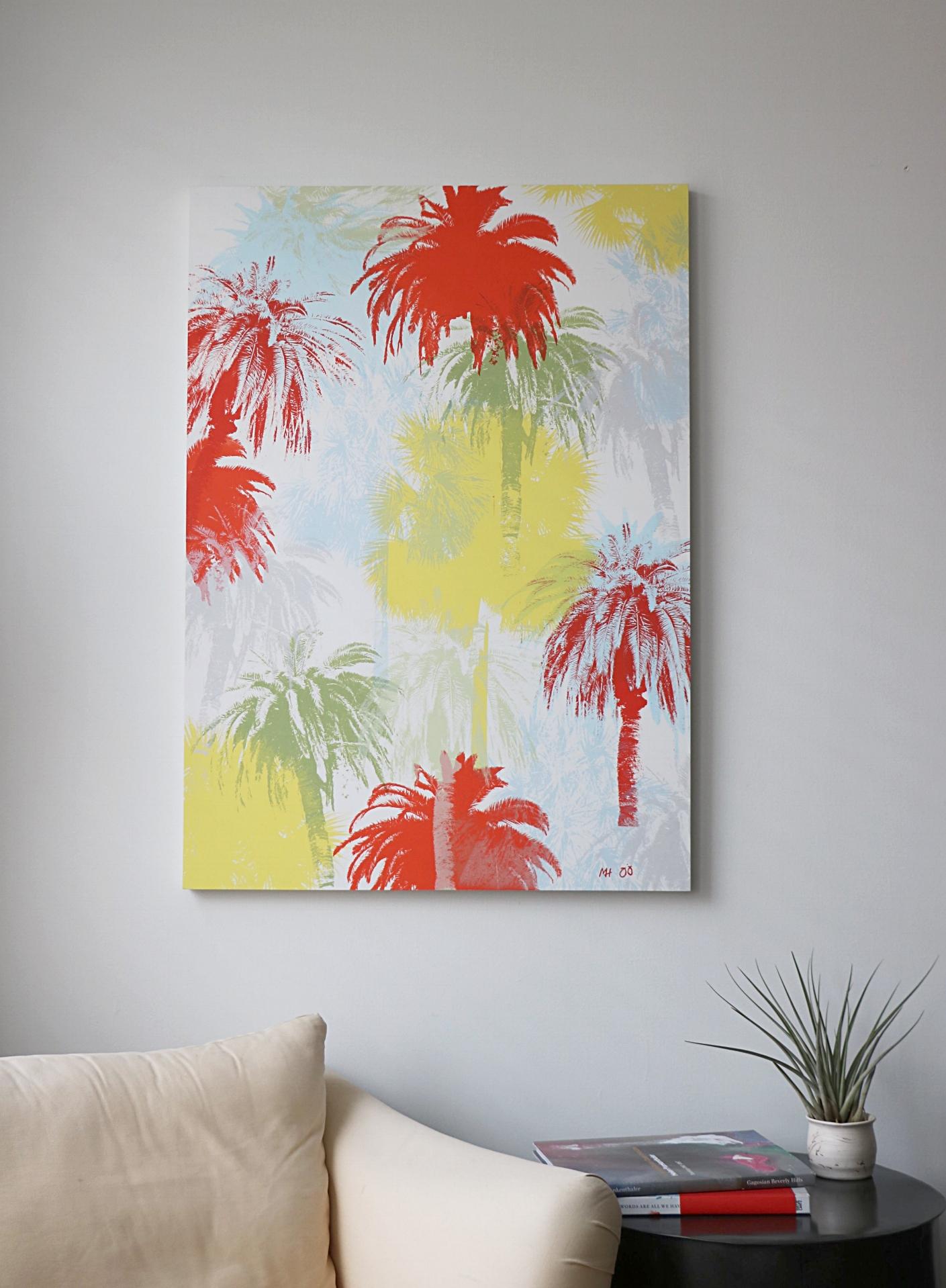 "Palm Tree Jungle  30"" x 42"""
