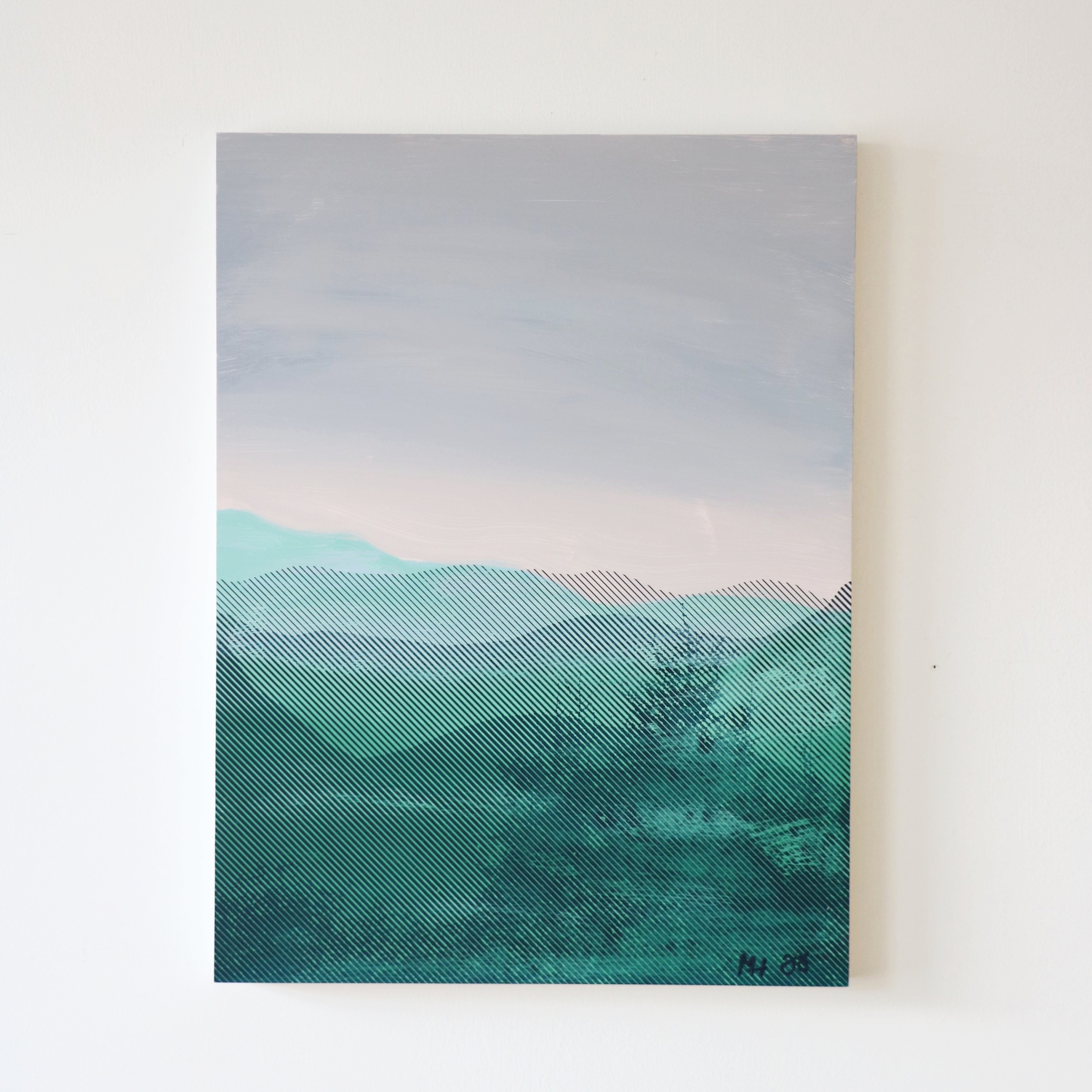 "Blue Ridges  18"" x 24""  Sold"