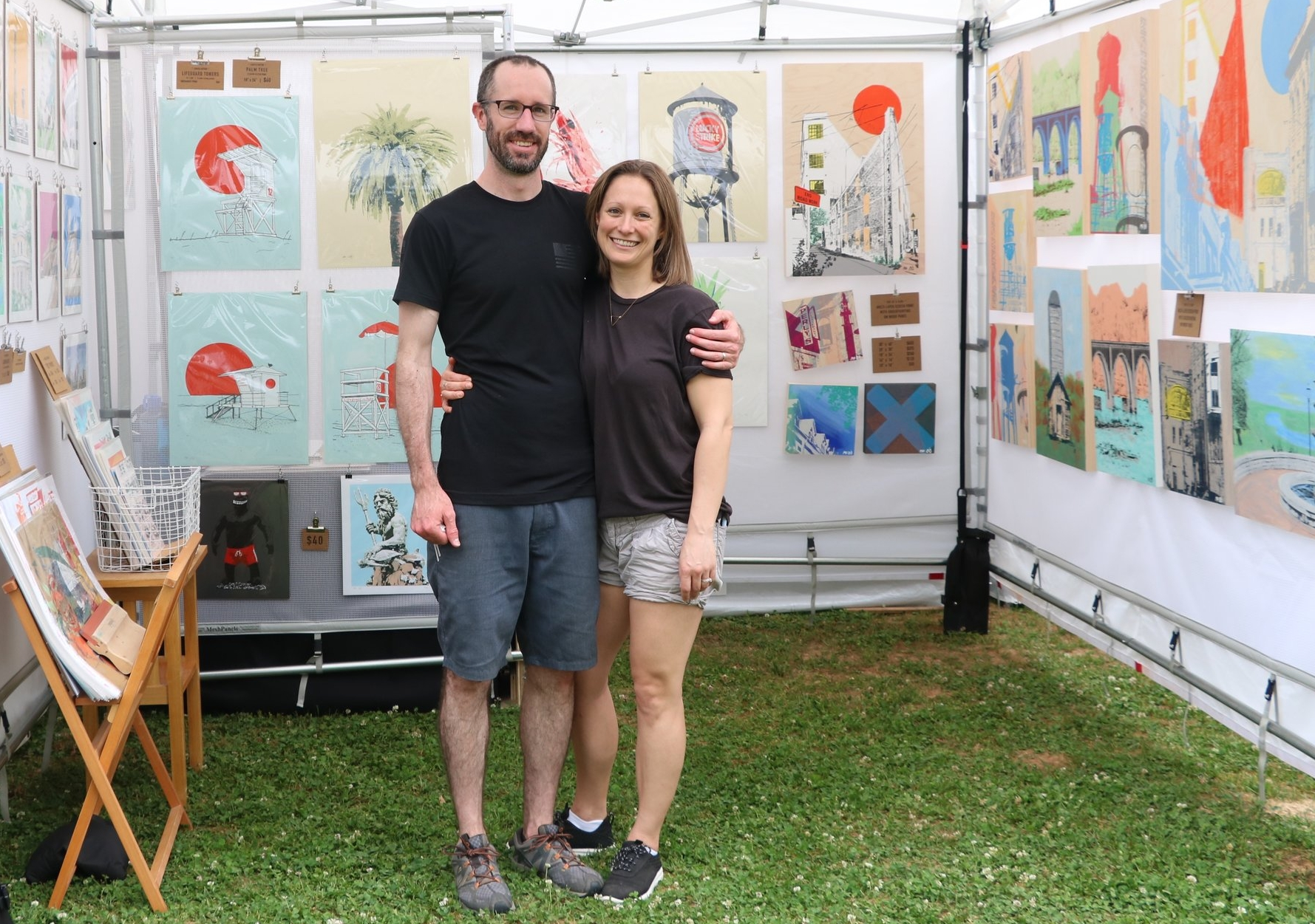 Meredith and James Hill Richmond Virginia Artists