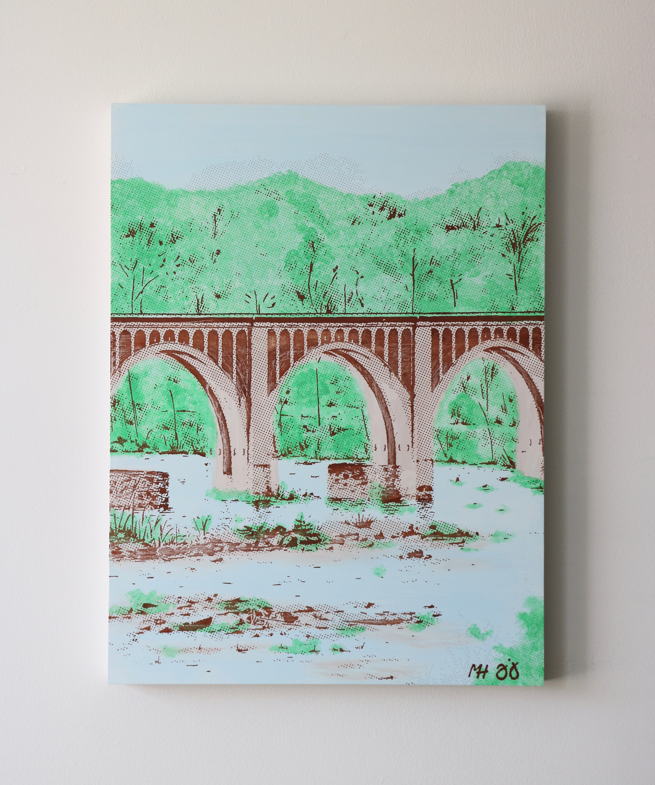 "CSX Bridge I  18"" x 24"""