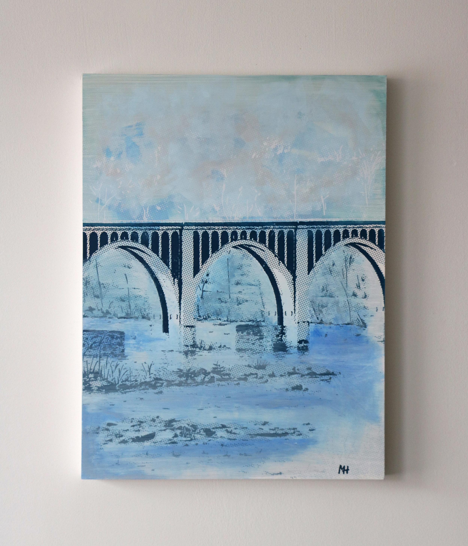 "CSX Bridge II  18"" x 24""  Sold"