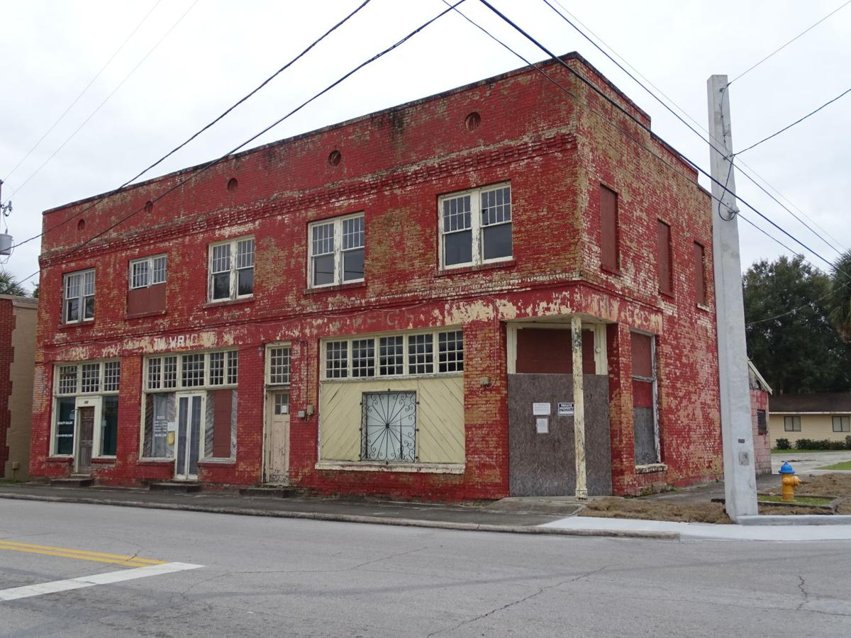 LAY OF THE LAND — The J.W. Wright Building at the corner of Voorhis and Clara avenue was once a hub for the African-American community in DeLand. Today, it sits in disrepair.  BEACON PHOTO/ELI WITEK