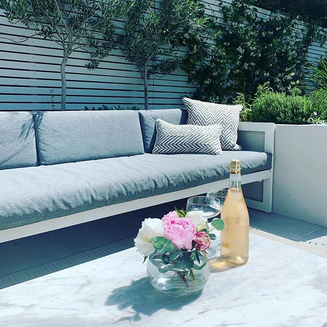 Putting the house back together after an epic party. Thank you so much everyone for coming to celebrate our gorgeous boy #albalucaandgrey #interiordesign #gardendesign #interiors @bandq_uk @daylesfordfarm best rose